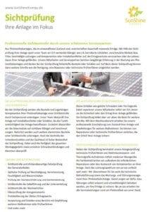 Wartung Ihrer PV Anlage-sunshineenergy-sichtpruefung-angebot-photovoltaik