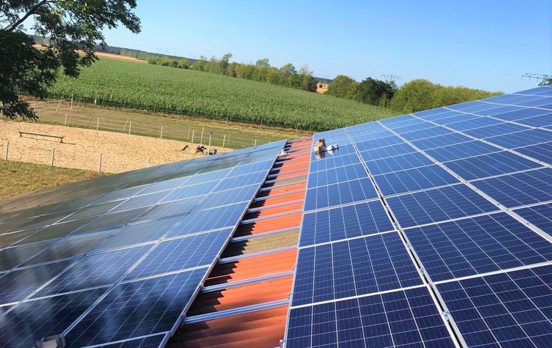 Photovoltaik Anlage 669 kWp Reithalle Wilhelminenhof