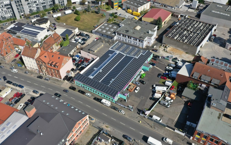 206,72 kWp - Nürnberg - Solaranlage Photovoltaik Direkt Investment