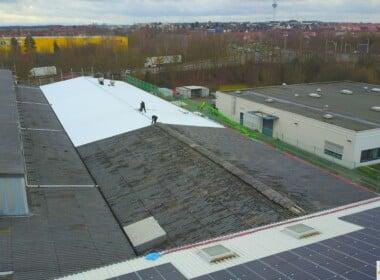 750 kWp – Braunschweig – Photovoltaikanlage - 20210122_Luftbild_PVA-Miag-Braunschweig_SunShine-Energy-1-scaled.jpg