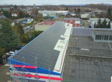 750 kWp – Braunschweig – Photovoltaikanlage - 20210122_Luftbild_PVA-Miag-Braunschweig_SunShine-Energy-2-scaled.jpg